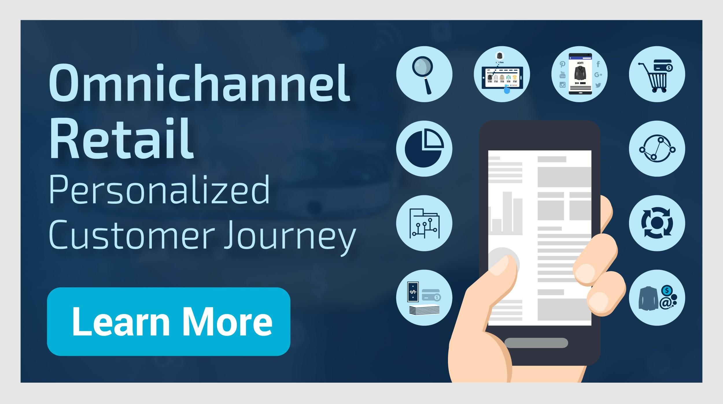 Omnichannel Retail:  Personalized customer journey