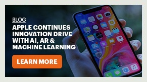 Blog:Apple Continues Innovation Drive with AI, AR & Machine Learning